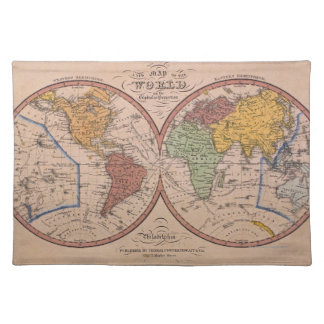 Antique Map Placemat