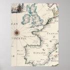 Antique Maps of the WorldMap of EuropeMatthaus 11 Poster