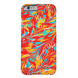 Antique Marbled Paper Vintage Design Barely There iPhone 6 Case