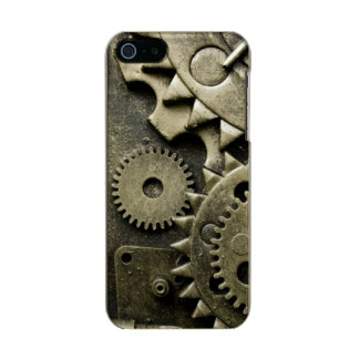Antique Mechanical Gears Manly Incipio Feather® Shine iPhone 5 Case