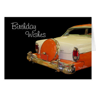 Antique Merc-customize any occasion Card