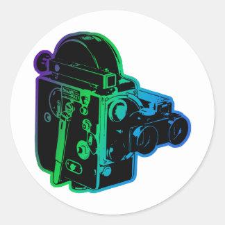antique-movie-cam stickers