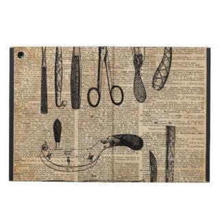 Antique Necropsy Kits,Zombie Apoalypse,Vintage Art iPad Air Cases