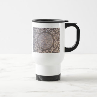 Antique Normandy Lace Travel Mug