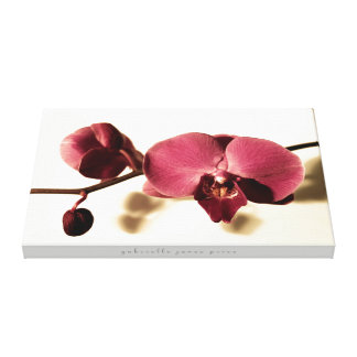 "Antique Orchid || Wrapped Canvas (24"" x 16"")"