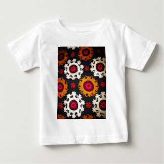 Antique Ottoman Embroidery Turkish Rug Baby T-Shirt