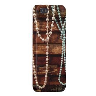 antique pearls iPhone 5/5S cases