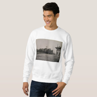 Antique Pennsylvania Train and Station Sweatshirt