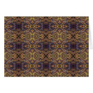 'Antique Persian Rug- Look' pattern CGGWOMF Card