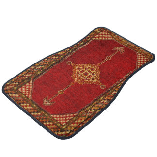 Antique Persian rug  pattern Car Liners