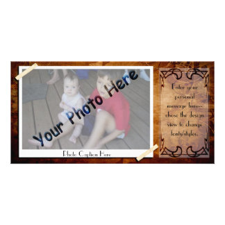Antique Photo Frame Card