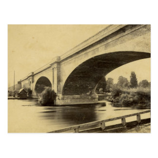 Antique Photograph of Maidenhead Railway Bridge Postcard