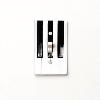 Antique Piano Keys Light Switch Cover