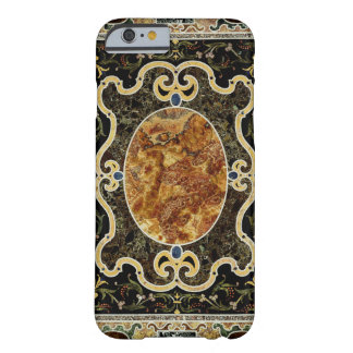 Antique Pietre Dure Marble Mosaic Pattern Barely There iPhone 6 Case