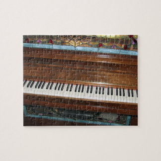 Antique Player Piano Jigsaw Puzzle