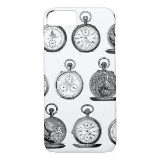 Antique Pocket Watches Stop Watch iPhone 7 Case
