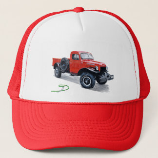 Antique Power Wagon Truck Cap