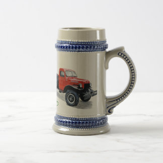 Antique Power Wagon Truck Stein