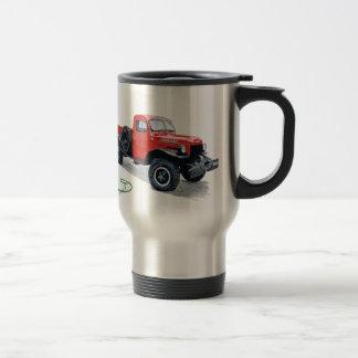 Antique Power Wagon Truck Travel Mug