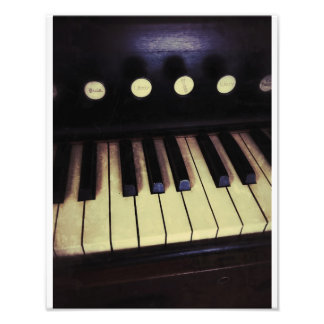 Antique Pump Organ Photo Art