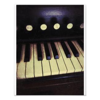 Antique Pump Organ Photo Art
