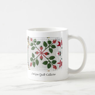 Antique Quilt Collector Mug