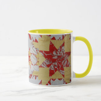 Antique Quilt Mug
