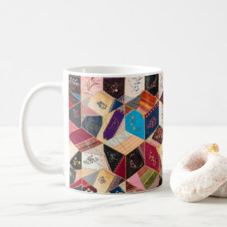 Antique Quilt Pattern Mug