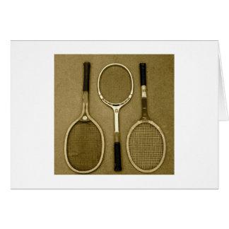 Antique Rackets Card