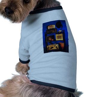 Antique Radio Pet T Shirt