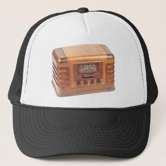 Antique radio trucker hat