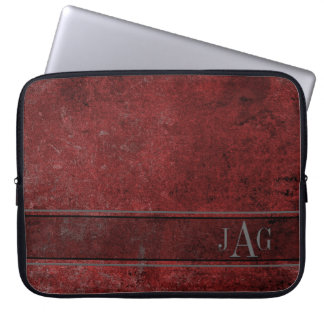 Antique Red Book Design Laptop Sleeve