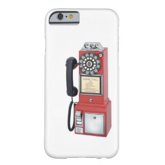 Antique Red Pay Phone iPhone 6 case