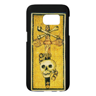 ANTIQUE RENAISSANCE TAROTS 13 / DEATH SAMSUNG GALAXY S7 CASE