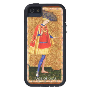ANTIQUE RENAISSANCE TAROTS / PAGE OF CUPS CASE FOR THE iPhone 5