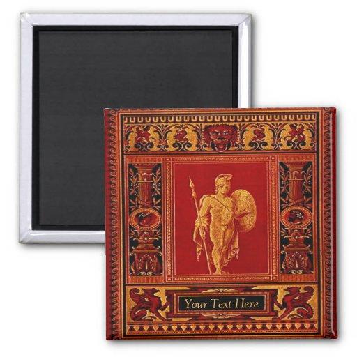 Antique Roman Soldier Magnet
