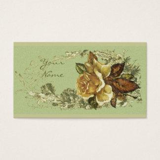 Antique Rose Business Card