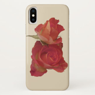 Antique roses on butter cream Case-Mate iPhone case