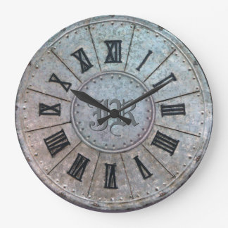 """Antique """"Rusty"""" Clock with (or without) Initial(s)"""