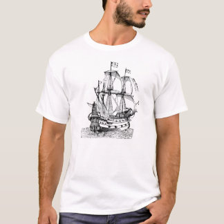 Antique Sailboat T-Shirt
