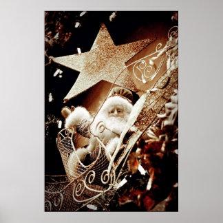 Antique Santa Claus Poster