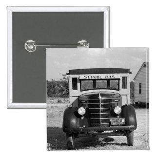Antique School Bus Greensboro Georgia 1941 Pin
