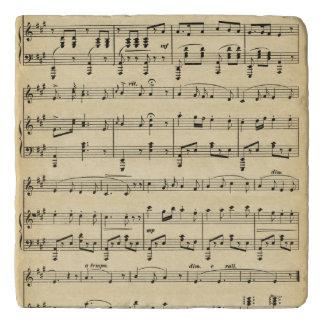 Antique Sheet Music Trivet