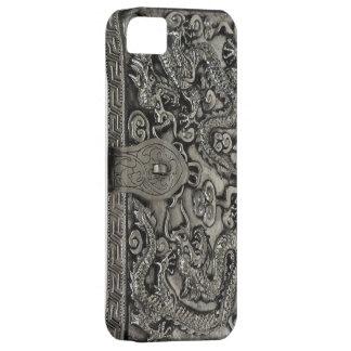 antique silver dragon iphone 5 case