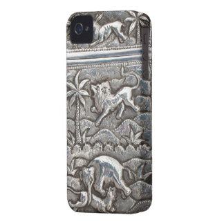 antique silver i-phone case