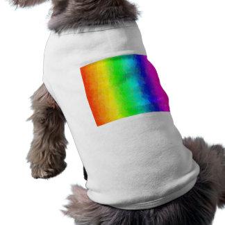 Antique Smudges Rainbow Doggie Shirt