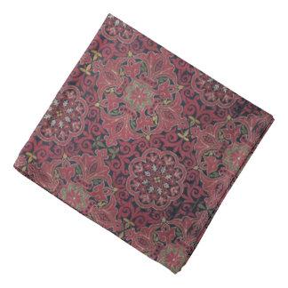 Antique Spanish Silk Pattern Bandana
