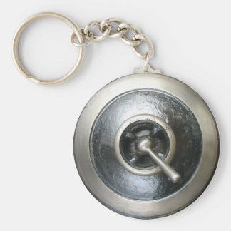 Antique Steam Engine Switch Keychain