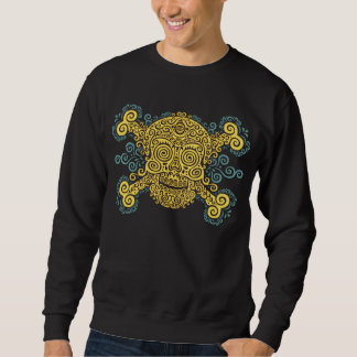 Antique Sugar Skull Sweatshirt