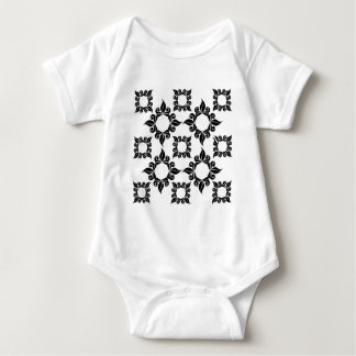 Antique Supper Image Baby Bodysuit